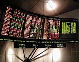 Display for stock prices, Australia